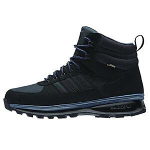 adidas Mens Gore Tex Black Boots M20330 Size 11.5 Chasker GTX Winter  Snow High