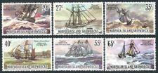 Norfolk 1982 MNH 6v, Shipwrecks, Ships & boats