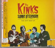 The Kinks Sunny Afternoon The very Best Japan Import  2 Cd's New
