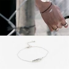 KPOP BTS Feather Bracelet Bangtan Boys Fashion Jewelry MV Elegant Jung Kook Jin
