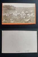 Suisse, panorama de Gais Vintage albumen print CDV. Tirage albuminé  6,5x10,