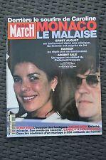 paris match n°2666 caroline de monaco le malaise / 29 juin 2000