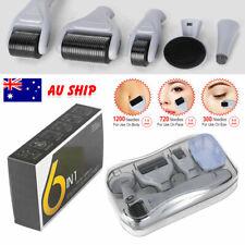 Derma Roller 0.5-2mm Skin Care Dermaroller Hair Kit Anti Aging 12~1200 Neddles