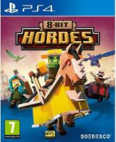 8-Bit Hordes Sony PS4 Playstation 4 **BRAND NEW UNSEALED!!**