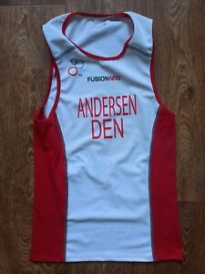 Fusion NRG Shirt Sleeveless Jersey TRI triathlon ANDERSEN DENMARK Size L