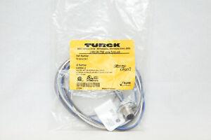 Turck FS 4.4-1/14.5 4 Pin Male Connector U2350-2 M12 Bulkhead