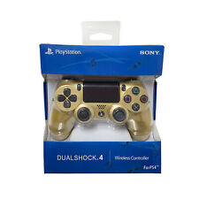 New GOLD DualShock Wireless Controller for Sony PlayStation PS4 SEALED BOX US