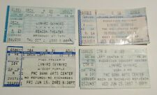 1988-1998 LYNARD SKYNARD Concert Ticket Stub VG 4.0 LOT of 4 Deep Purple