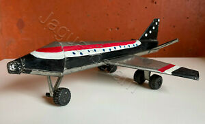 Mexican Artisan Toymakers handmade Tin Toy Airplane Scale Model 1960s
