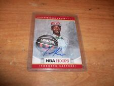 2012 Panini NBA Hoops Basketball Terrence Ross Auto Card Toronto Raptors