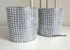 Handmade Glass Contemporary Candle & Tea Light Holders