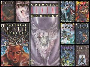 °ALIENS: COLONIAL MARINES 1 bis 10°  US Dark Horse 1993 Komplette Miniserie