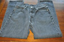 Levi's Brand 550 Red Tab Denim Blue Jeans-Waist 32-Inseam 31   Great Used Cond.