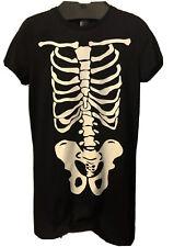Haloween Womens Short Sleeve T Shirt Black & White Medium Size By F&F