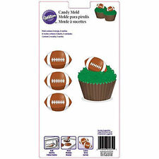 Football Chocolate Candy Mold from Wilton 0227 - NEW
