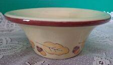 Fall Yellow Autumn Dish Snack Bowl Ceramic Acorn Leaf Leaves