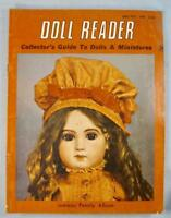 Doll Reader Vintage Collectors Magazine June July 1980 Jumeau Family Album (O)
