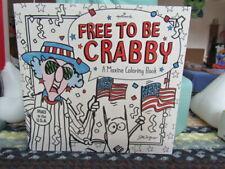 "2015 Hallmark ""Free To Be Crabby"" A Maxine Coloring Book ~ New!"