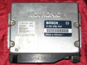 Remapped BOSCH 0261200404 GENUINE. M60B40 Non EWS ECU. E38, E34 740i, 540i