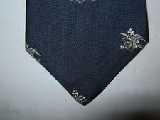 Regal Vintage Tie Necktie 54 x 3 blue gray 15032