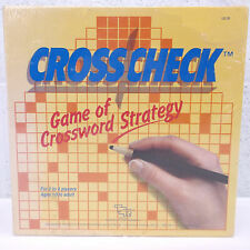 "NOS NIB VTG 1985 Cross Check ""The Game of Crossword Strategy"" TSR Board Game"