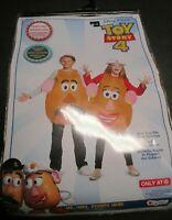 Child One Size Costume Toy Story 4 Mr Mrs Potato Head Boys Girls Disney Pixar
