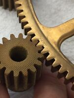 "BOSTON GEAR QBHL-1616 FIBER SPUR PINION GEAR 3/8"" BORE 16 PITCH 16 TEETH  LOOK !"