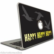 Macbook Air or Pro 13 inch Vinyl Removable Skin - Duck Dynasty - Happy 3X