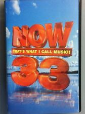 Now That's What I Call Music 33 Double Cassette Tape