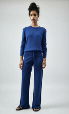 Pringle Womens Knitted Trousers Size S, in Blue