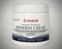 MINERIN CREME (Compare to Eucerin Cream) by Major Pharmaceuticals - 16oz