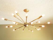 Large 24 Arm Sputnik Light Atomic Mid Century Starburst Chandelier Light Fixture