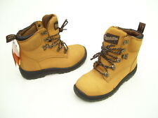 BLUDSTONE XTREME SAFETY INDUSTRIAL WORK BOOTS SHOES BABY BUFF NUBUCK SIZE 5 NEW