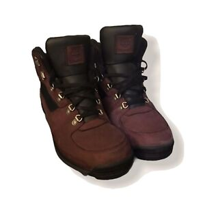 timberland boots men 11.5, grape colored