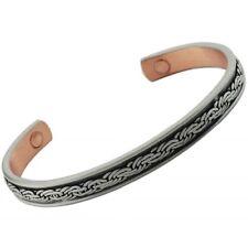 Magnético Para Hombre señoras brazalete de cobre Brazalete Artritis alivio de la terapia magnética