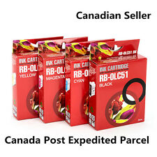 4pk Ink Cartridge for Brother LC51 MFC-240C MFC-885CW MFC-230C DCP-130C DCP-330C