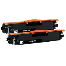 2 x Black Toner Cartridge for HP 126A CE310A CP1025 CP1025NW M175a M175nw M275nw