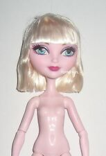 Ever After High Royal Bunny Blanc LOOSE Nude Doll Gloved Hands NEW OOAK Monster