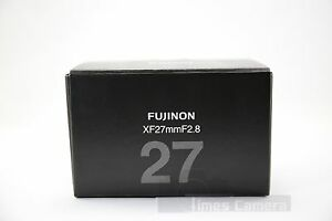*NEW* Fujifilm Fujinon XF 27mm F/2.8 F2.8 Lens, Silver Fr X-T2 X-T1 X-T3 XT20 E3