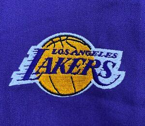 NBA Los Angeles Lakers Purple Scrubs Pants Mens Basketball Lebron Medium New