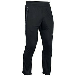 Under Armour Men's Black UA Select Shooting Basketball Fitted Pants