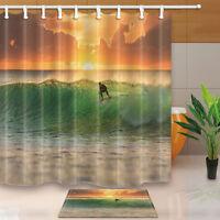New Home Bathroom Bedroom Doormat Floor Soft Non-slip Shower Mat Rug 9G67