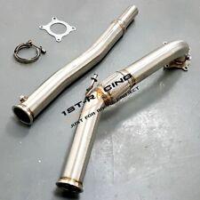 3''Turbo Decat Downpipe For VW Golf EOS /Audi A3 S3 TT/ Seat Leon 2.0T 147/155KW