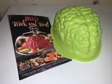 Jell-o Brain Mold With Recipe Booklet