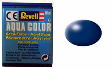 REVELL 36350-Aqua Color-Acrylique-Couleur 310-lufthansablau-satin-RAL 5013