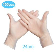 Disposable Latex Kitchen/Rubber/Garden Gloves Universal for Left and Right Hand
