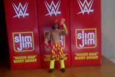 WWE Mattel SDCC 2019 Exclusive figure Slim Jim Macho Man Randy Savage Incomplete