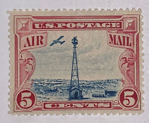 Travelstamps:1928 US STAMPS SCOTT#C11, Beacon and Rocky Mountains, MNH, OG, H