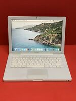 "Macbook 13.3""2.13GHz-2.0GHz intel Core2 Duo 4GB RAM 128GB SSD (2009) Catalina Os"