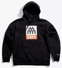 OBEY x INVADER Sweat-Shirt Size L Paris Los Angeles 2019 Street Art Limited